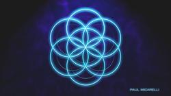 Seed of Life Teal Glow-Paul Micarelli