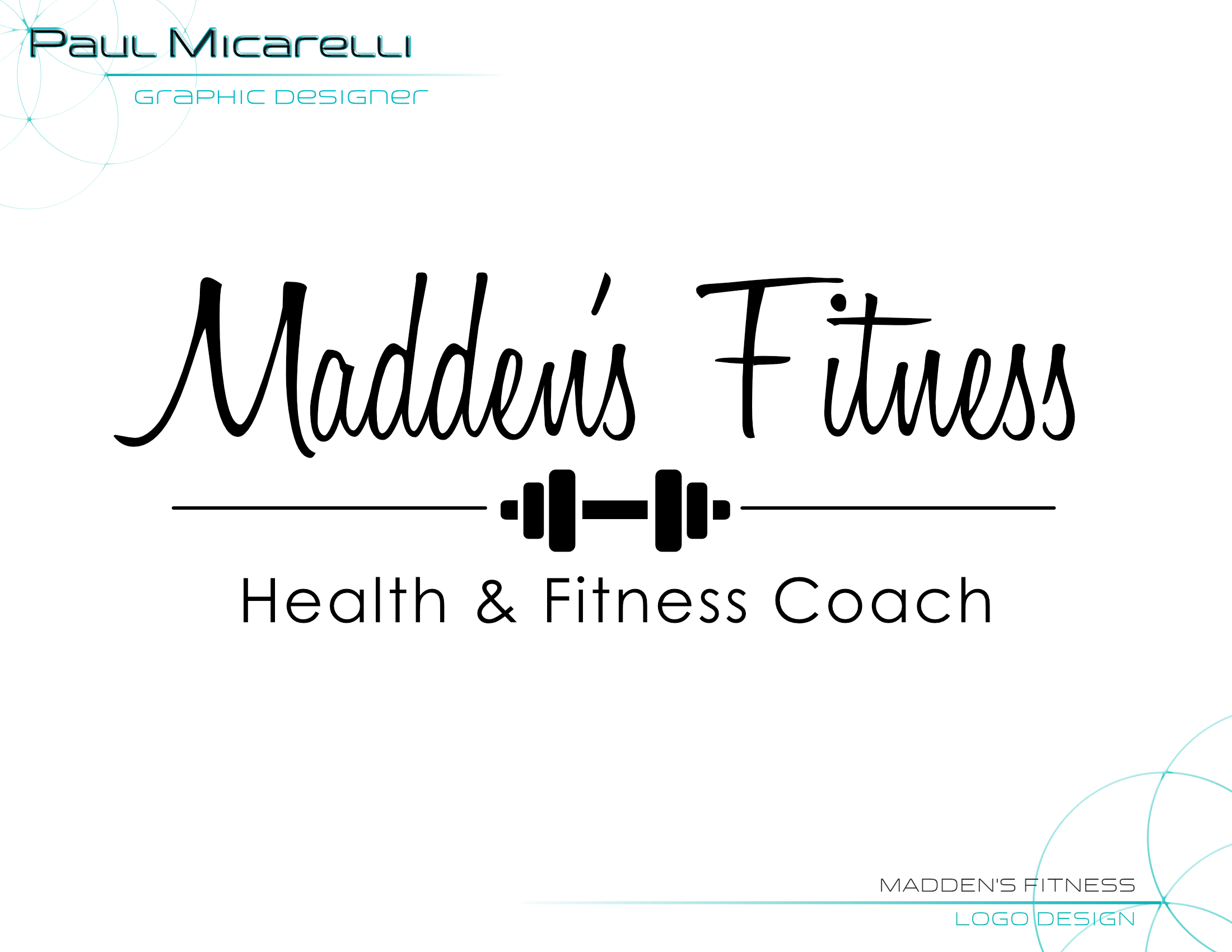 Paul-Micarelli-Maddens Fitness Logo