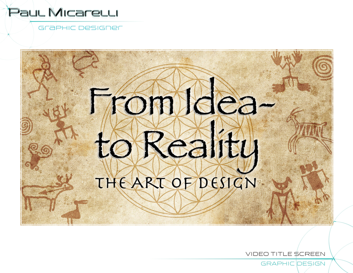 Paul-Micarelli-Video Art Design