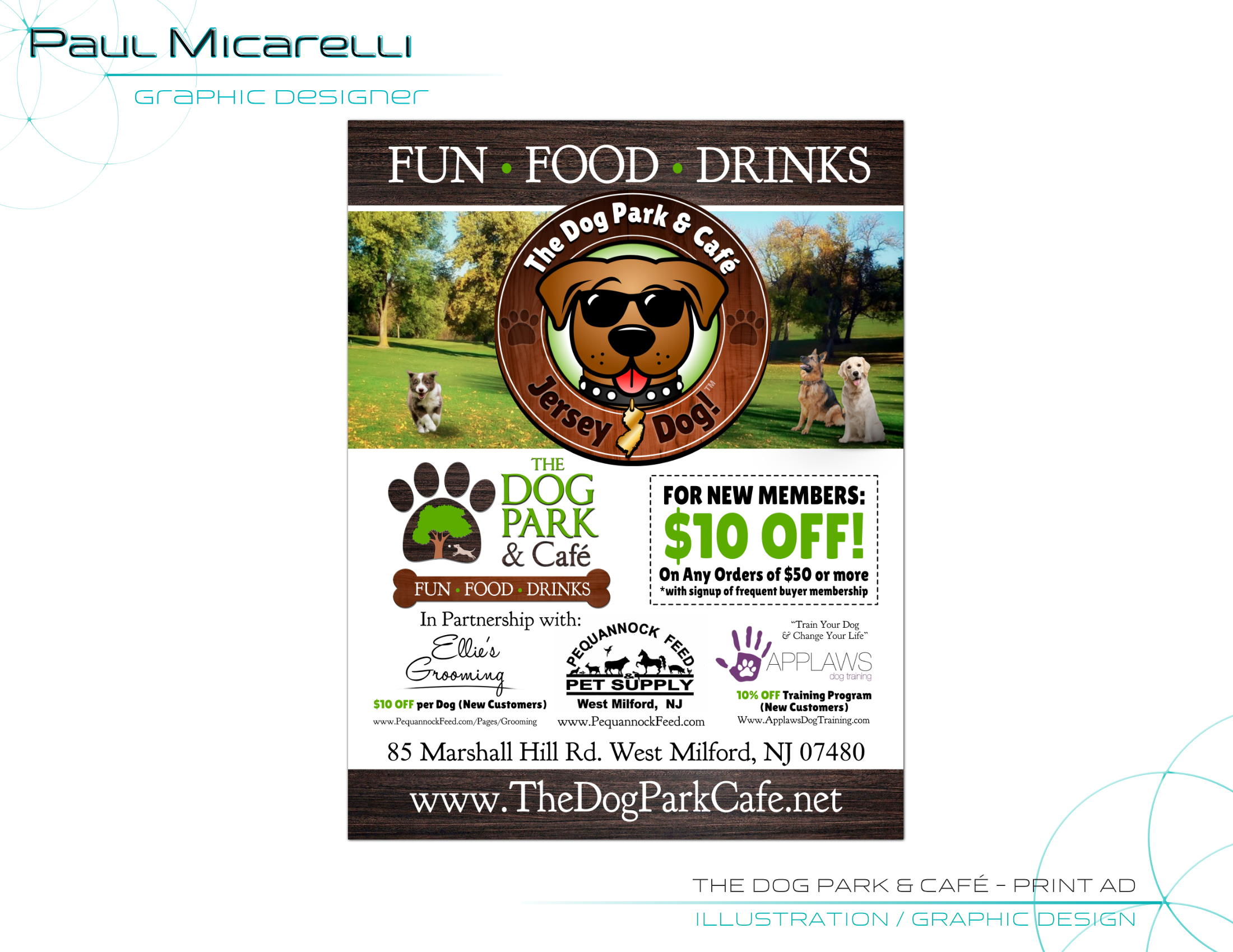 Paul-Micarelli-The Dog Park & Cafe-Print