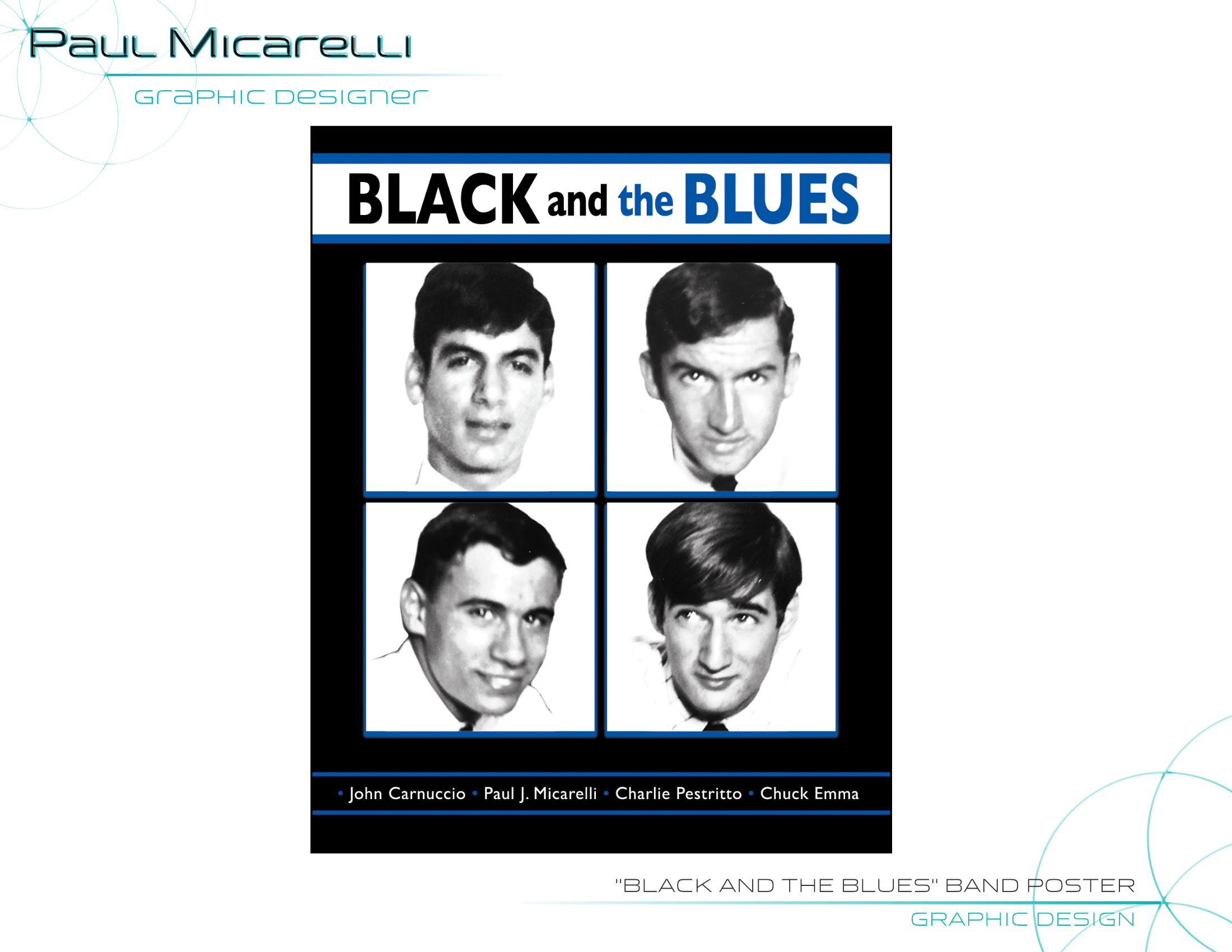 Paul-Micarelli-Black and the Blues Poste