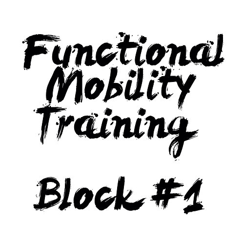 Functional Mobility Training Block 1