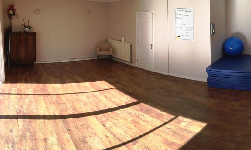 Rehab Yoga room