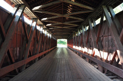 Inside - Howe Truss