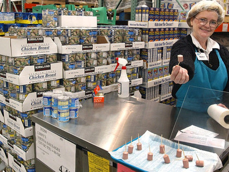 BREAKING: Costco now offers samples of Jesus in all its stores.
