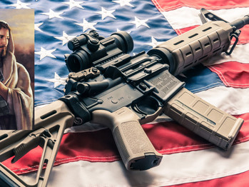 Jesus' personal AR15 sold for  $250,000 at auction.