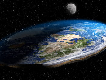 Collision Course: In 2021 Flat Earth heading for a crack in Uranus.