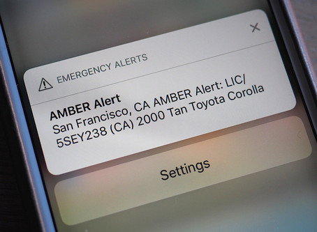 Jehovah Witnesses complain about intrusive Amber alerts on phones.
