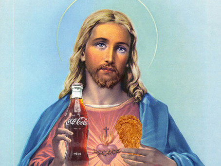 Evangelicals update Jesus image to be more like Trump.