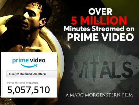 Vitals has reached a new milestone. Over 5M minutes streamed on Prime Video.