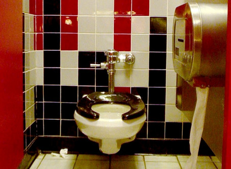 Trans People worry of molestation by Catholic priests in public bathrooms.