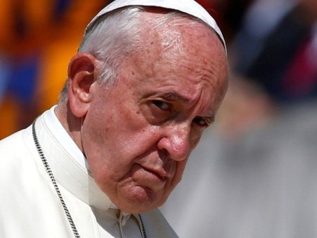 Pope Francis: Post COVID-19 women should be allowed to go to work.