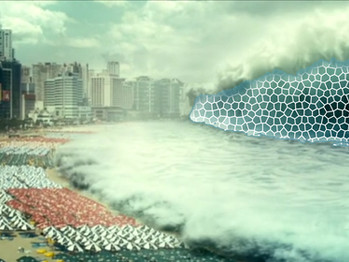 BREAKING: Prayer Wall stops devastating tsunami from destroying Miami.