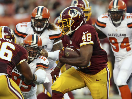 Hell is revealed to be similar to a low scoring Redskins v Browns game.