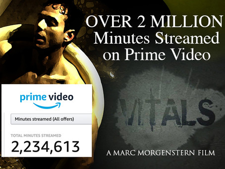Vitals now boasts over 2M viewed minutes on Amazon Prime