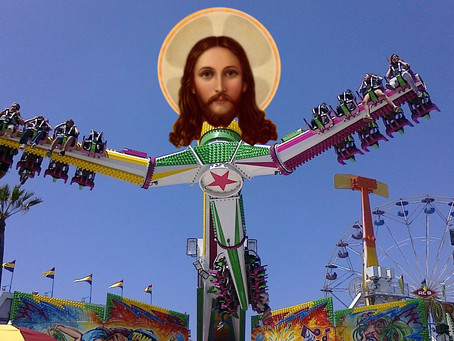 Biblically Accurate Amusement Park Frightens Children into Believing.