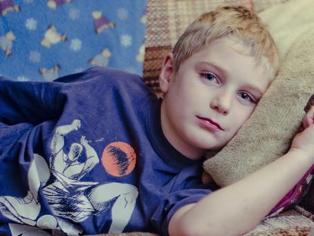 Selfish Cancer Kid hoarding thoughts and prayers in coronavirus epidemic.
