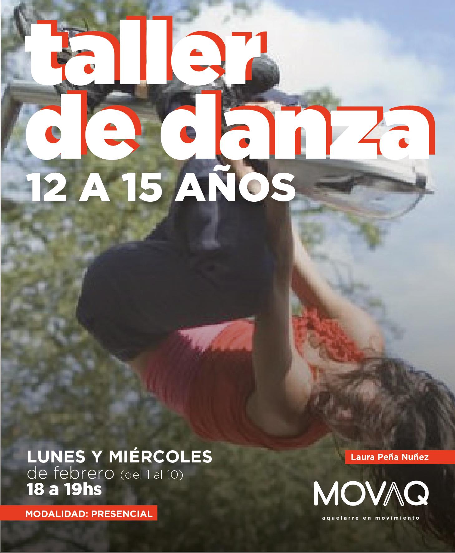 taller de Danza 12 a 15 años - Laura Peñ