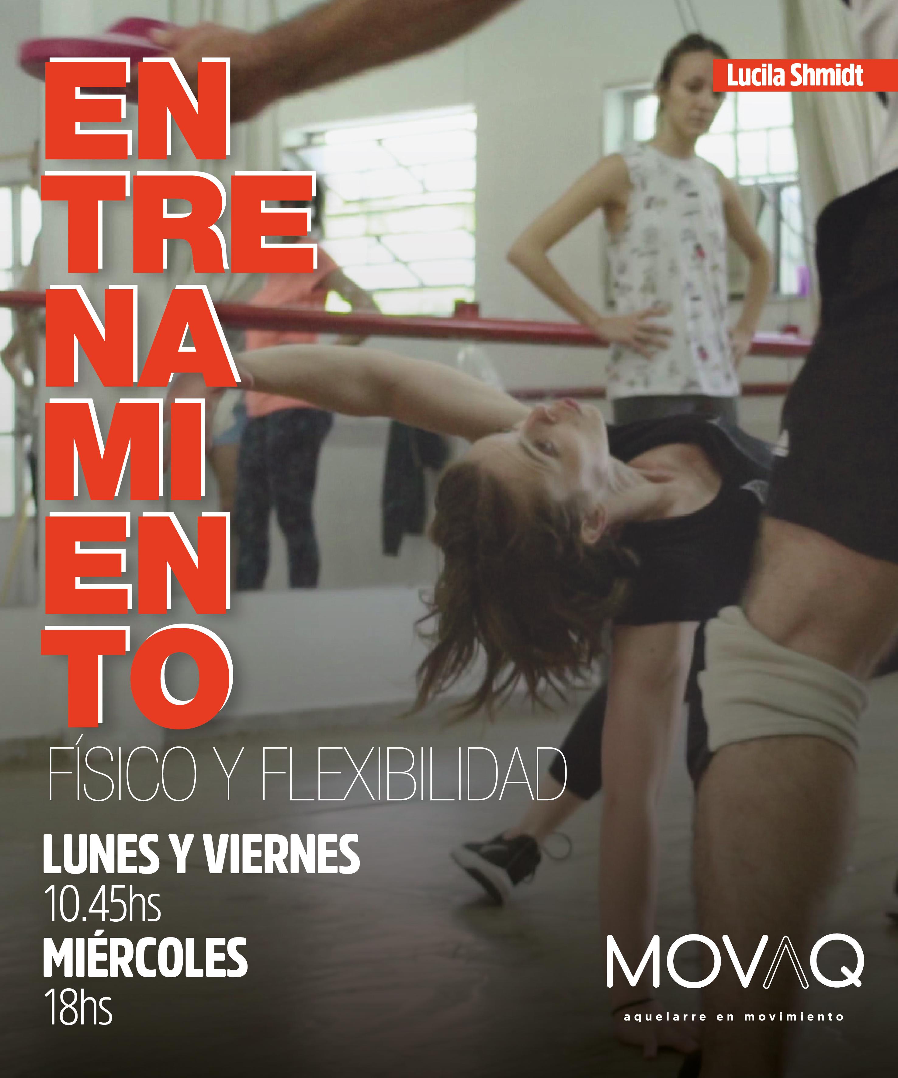Entrenamiento físico y flexibilidad