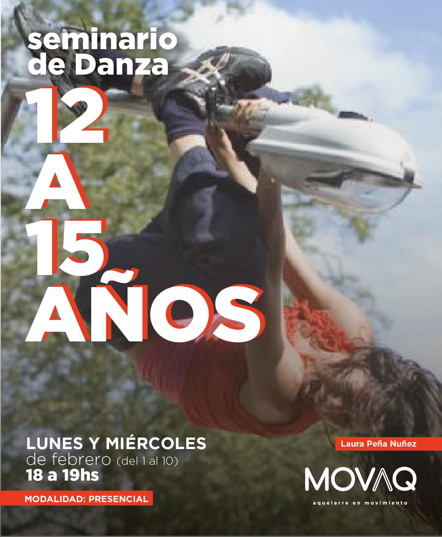 Seminario de Danza 12 a 15 años - Laura