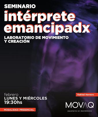Intérprete Emancipadx - Rakhal Herrero.j