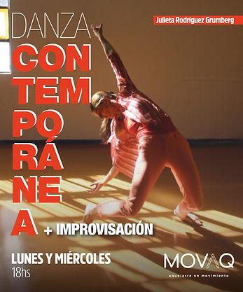 Danza contemporánea más Improvisación Ju