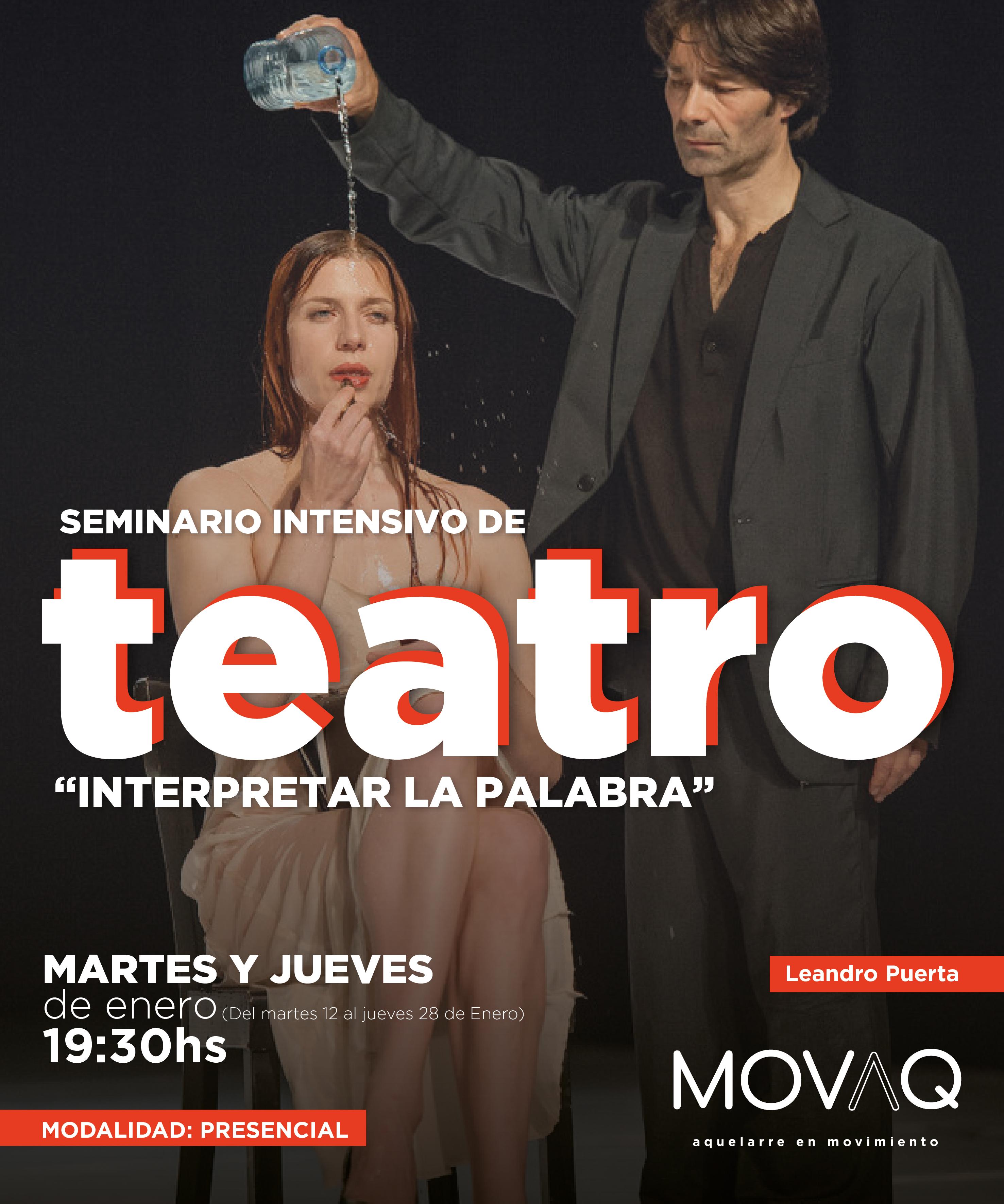 Seminario Teatro Leandro Puerta