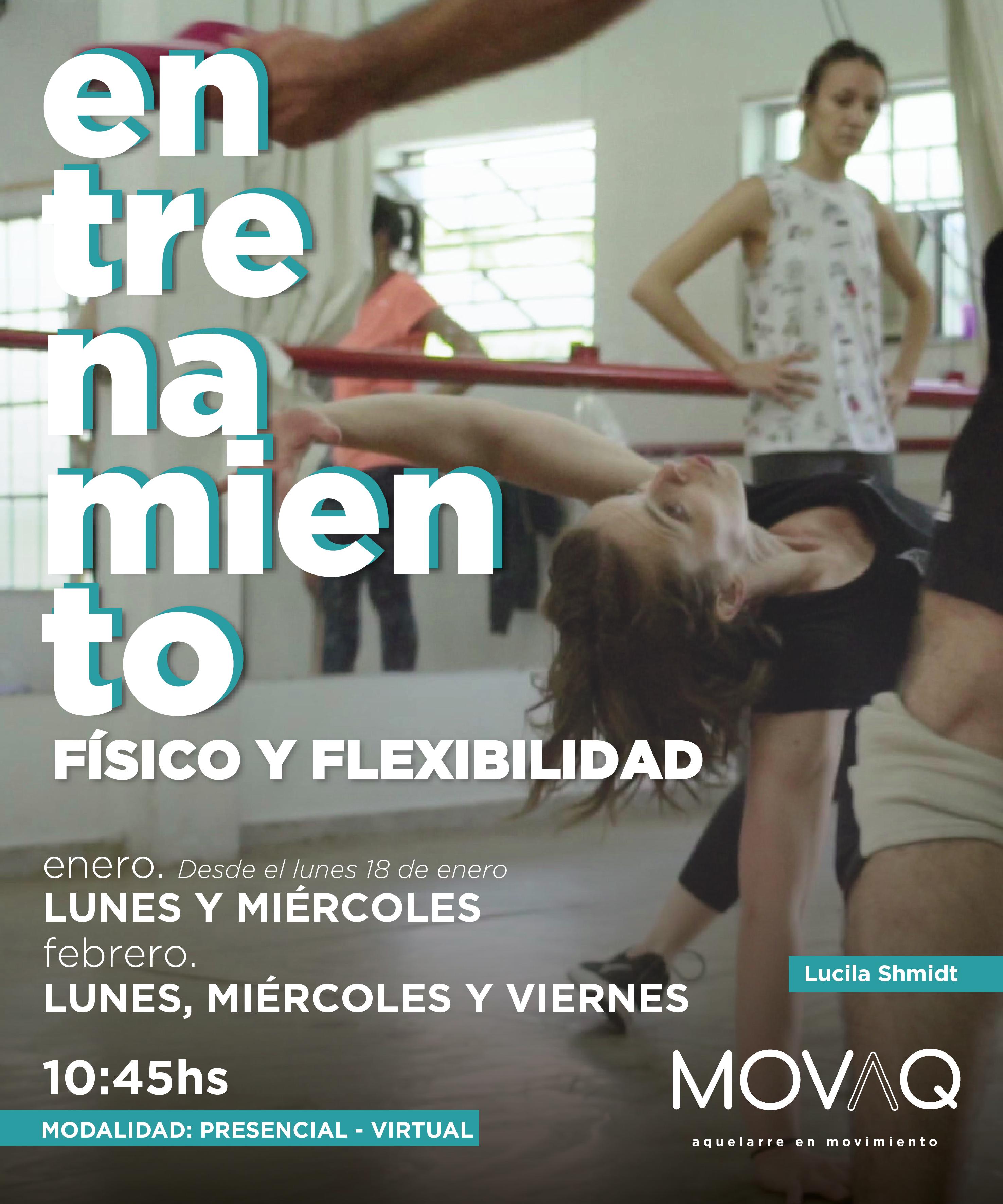 Seminario Entrenamiento físico y flexibi