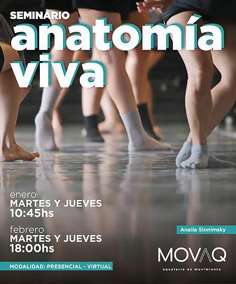 Seminario Anatomia Viva - Analía Slonims
