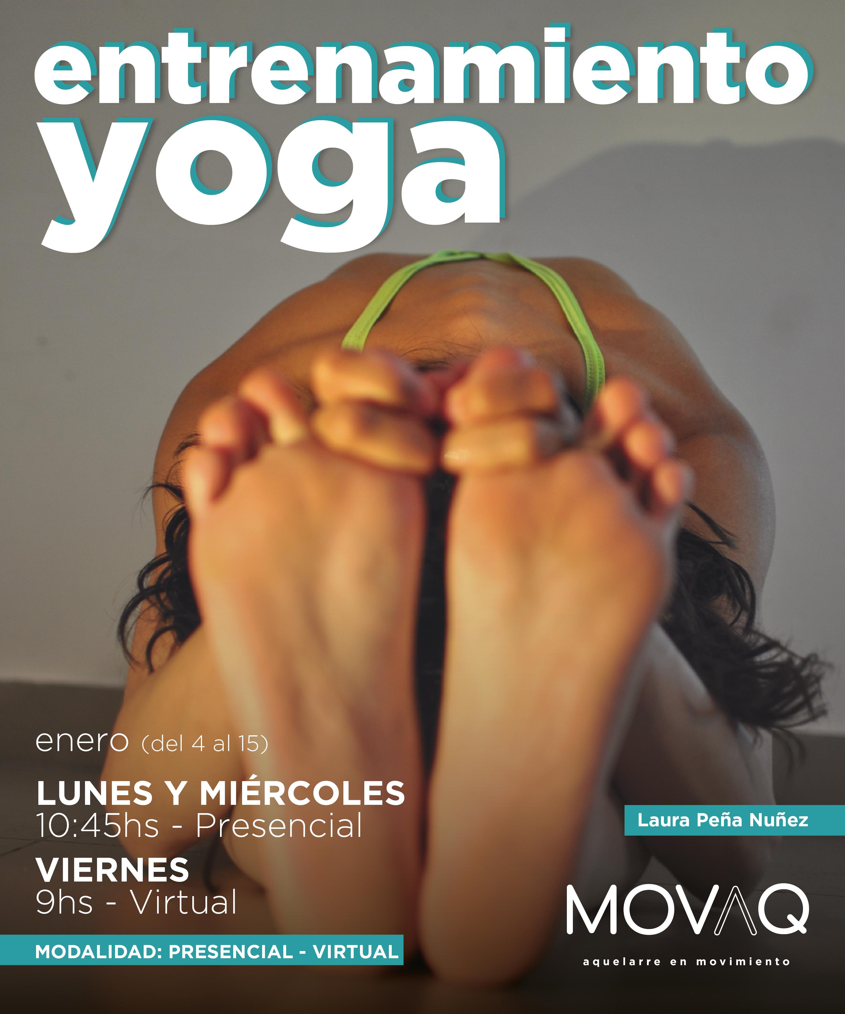 Yoga Entrenamiento ENERO