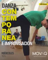 Danza Contemporánea e improvisación Juli