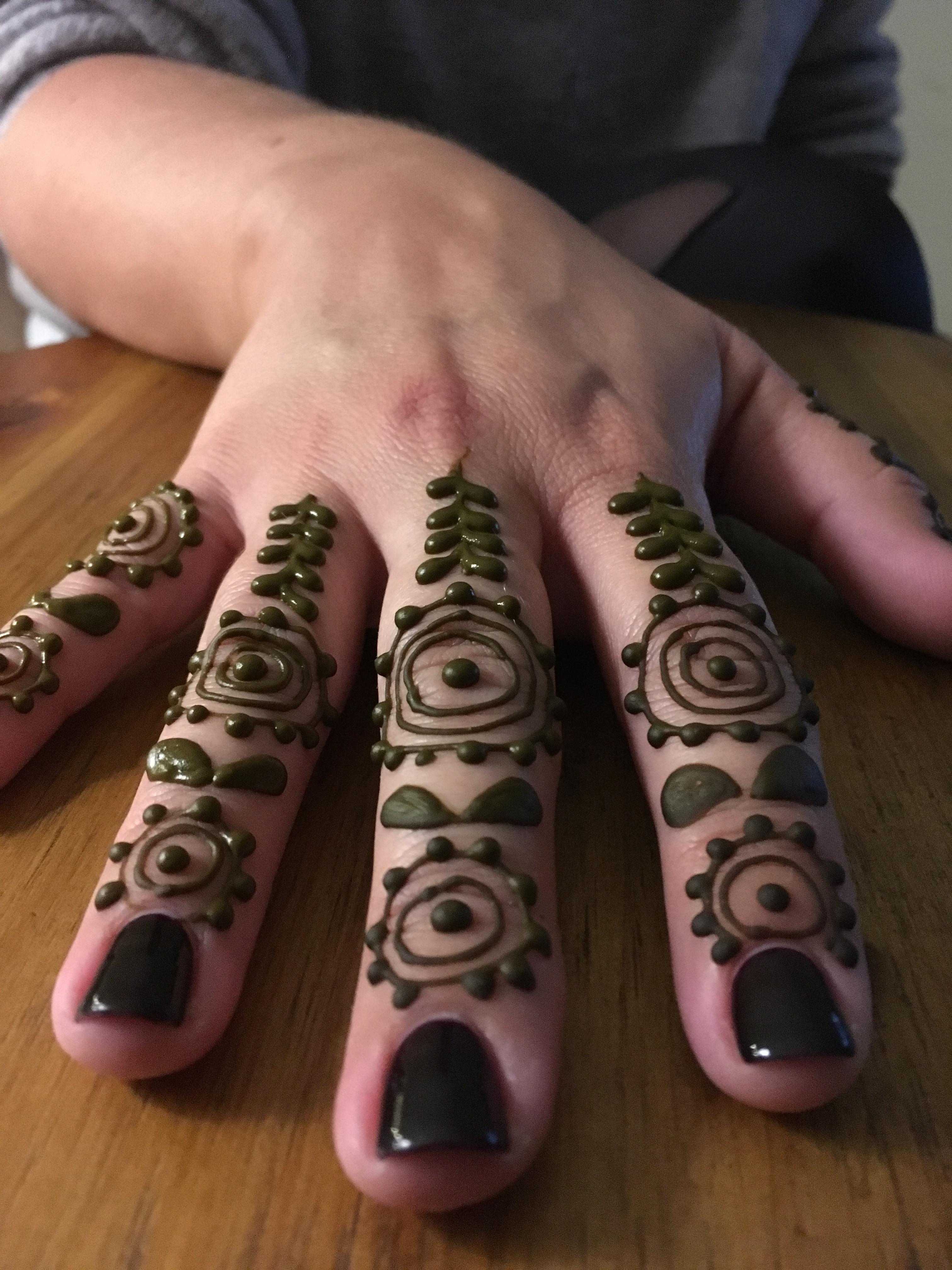 Finger bangs