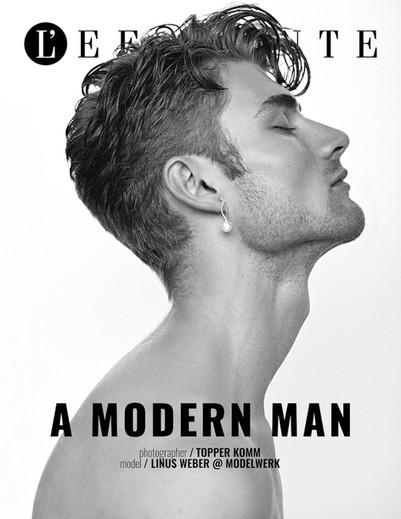 A Modern Man for L'Effonte Journal