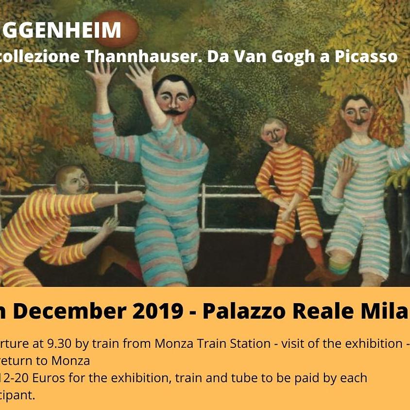 Guggenheim Exhibition in Milan