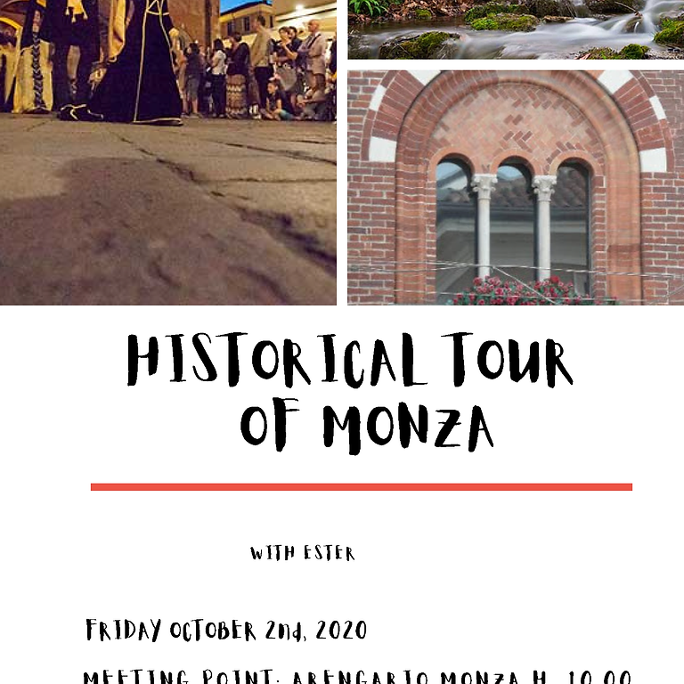 Historical Tour of Monza with Ester