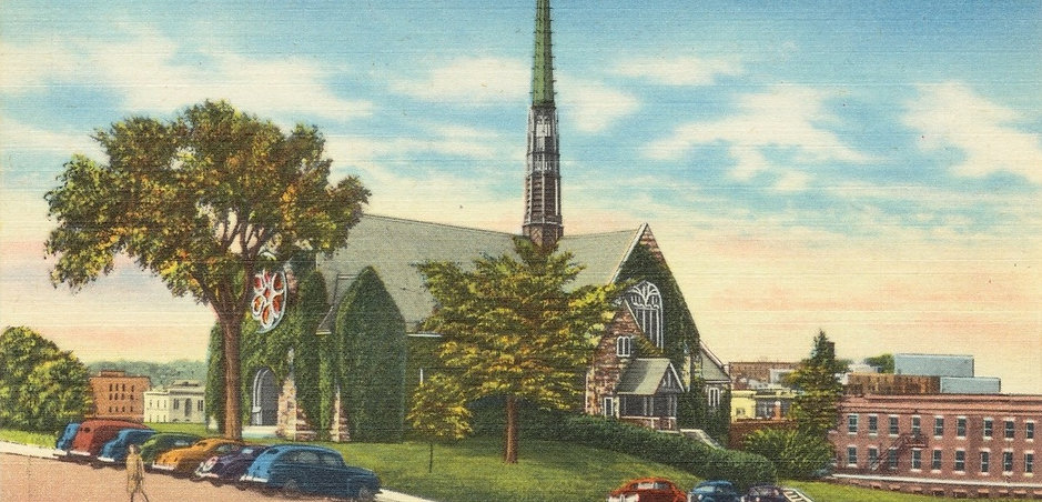 Historical Photo of All Souls Congregational Church
