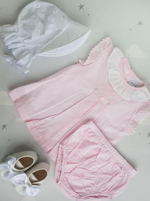 Dandelion Ruffle Dress and Bloomers