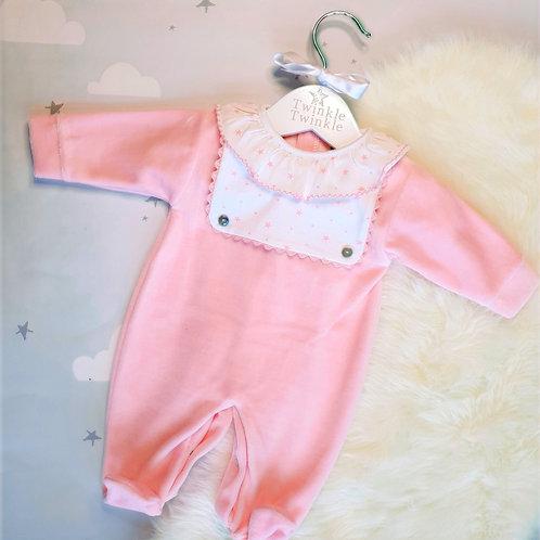 Donohue Pink Sleepsuit