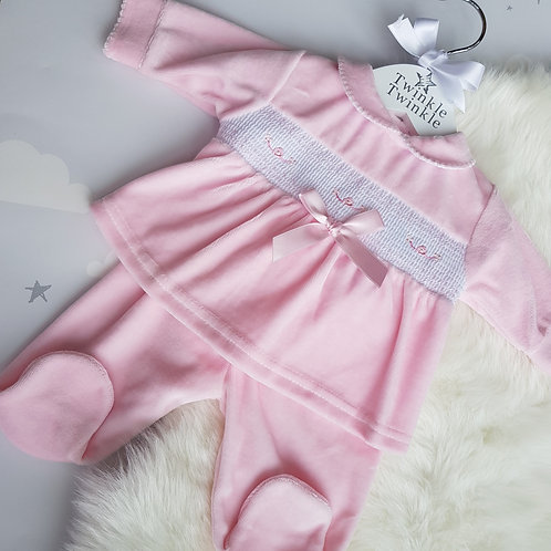 Smocked Bow Outfit