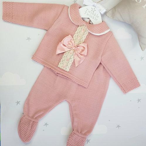 Porsha Suit Dusty Pink