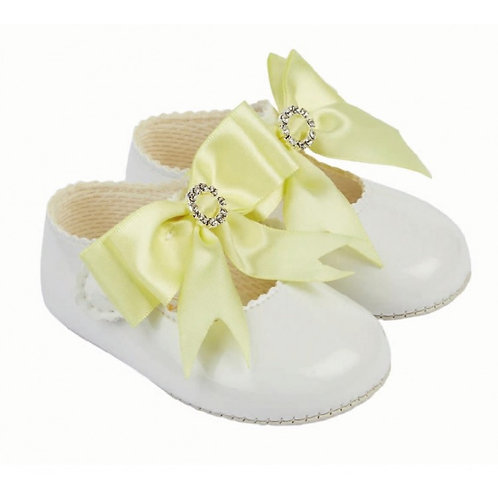 Baypods Diamante Lemon Bow