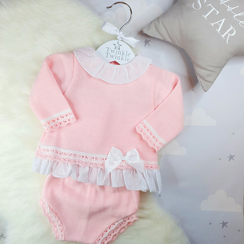 Pink Bow Two Piece
