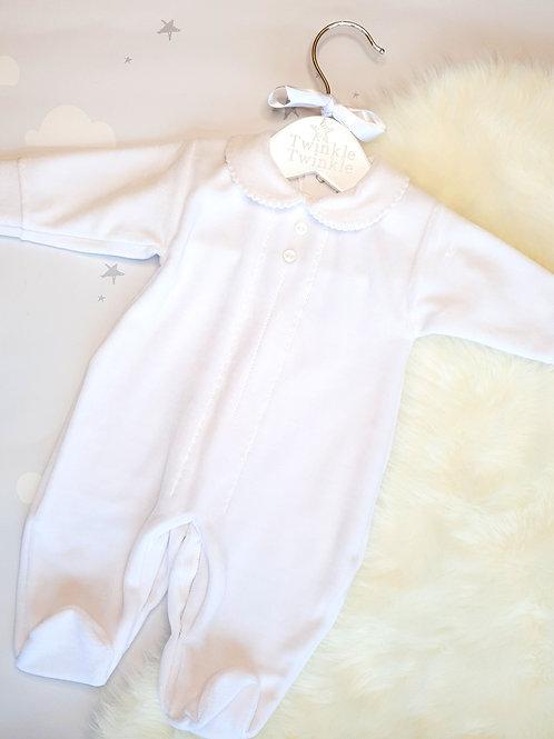 Classic White Sleepsuit