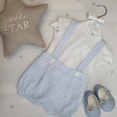 Dandelion Stripe Shorts and T-Shirt