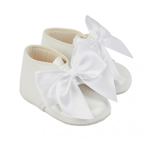 Baypods White Patent Boots