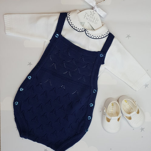 Dandelion Knitted Romper and Top