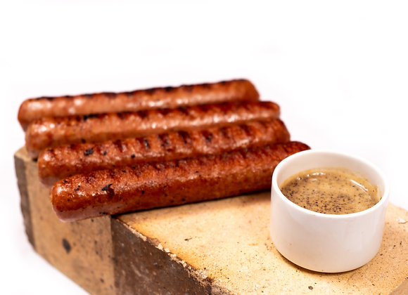 Smoked Chicken Hotdog Sausage (Skinless) 4pc 210gms