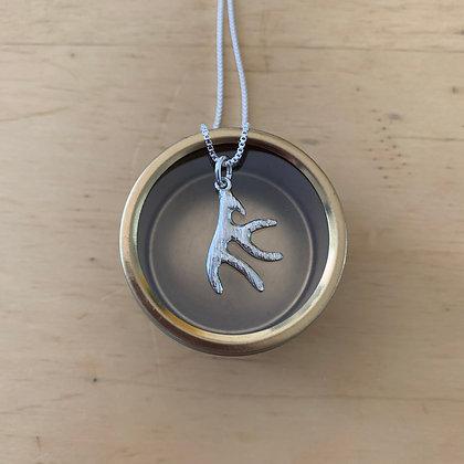 Shelley MacDonald sterling silver antler - medium