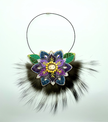 Grandmother's Flower necklace by Natasha Peter