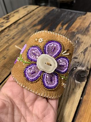 Springtime cuff by Minnie Clark